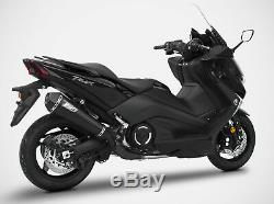 Ligne Complete Zard Conique Inox Racing Yamaha T-max 530 2017/18