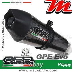 Ligne complète échappement GPR GPE ANNIVERSARY Poppy YAMAHA T-MAX 500 2005