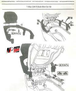 MF1369 Dos Dossier Repose-Dos Original Yamaha 530 560 Tmax