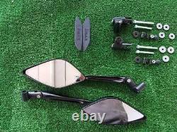 Miroirs Rétroviseurs Guidon FAR + Caps X Yamaha Tmax T-Max 530 1219