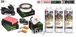 Pack Vidange Filtre Huile Ipone Full Power Katana 10W40 Yamaha T-Max 530 12-16