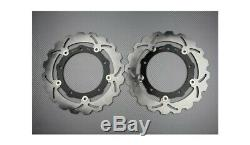 Paire Disques Frein Avant Wave 267mm YAMAHA TMAX T-MAX 530 LUX MAX ABS 2015-2016
