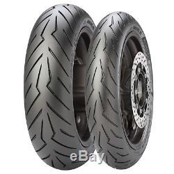 Paire pneus Scooter 120/70/15 160/60/15 Pirelli DIABLO ROJO YAMAHA T MAX 530