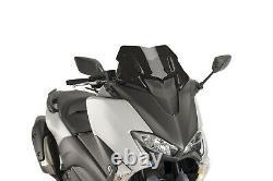 Pare-brise Puig V-tech Line Sport Pour Yamaha T-max 560 Dx/sx 2020 Noir