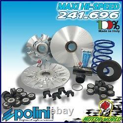 Polini 241.696 Variateur Hi-Speed Yamaha Tmax T-Max 500 12 Rouleaux EVOLUTION3