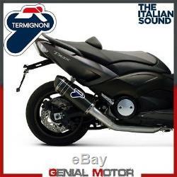 Pot D'Echappement Kat Complete Termignoni Carbone Yamaha T Max 530 2012 12