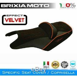 Revêtement Couverture Selle Velvet 1OR-3 Yamaha 530 XP T-Max 2012-2016