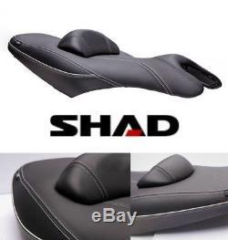 Selle Confort SHAD Noir Gris YAMAHA T-MAX 530 TMAX 500 2008 à 2016