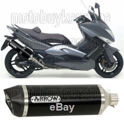 Silencieux Homologue Noir 73507akn Arrow Pour Yamaha Yp 500 T-max 2008 08