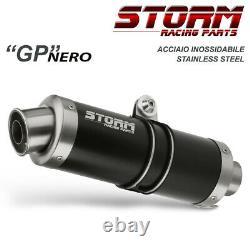 Systeme Echappement Complet Storm by Mivv Gp noir Yamaha T-max 500 2008 2011