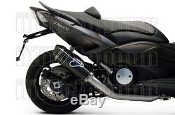Termignoni Ligne Complete Hom Relevance Carbone CC Yamaha Tmax T-max 530 2012 12