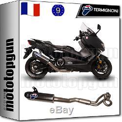 Termignoni Ligne Complete Homcat Scream Carbone CC Yamaha Tmax T-max 530 2018 18
