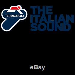 Termignoni Pot Complete Hom Cn Relevance Carbone Yamaha Tmax T-max 530 2016 16