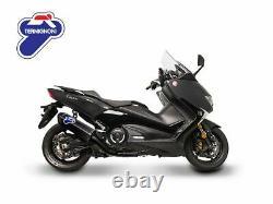 Termignoni Systeme D'echappement Carbone Nero Yamaha T-max 560 2020