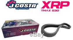 Variateur Jcosta Xrp + Courroie Racing Pour Yamaha T-max 530 2017 / 2018