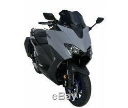 Yamaha 560 T-max- 2020- Bulle Pare Brise Saute Vent Ermax Hypersport Noir Fonce