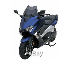 Yamaha 560 T-max- 2020- Bulle Pare Brise Saute Vent Ermax Sport Touring Noir Cla