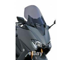 Yamaha 560 T-max- 2020-bulle Pare Brise Saute Vent Ermax Origine Noir Clair 02
