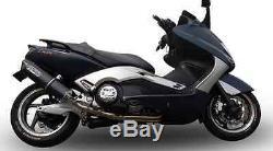 Yamaha T Max 500 Système D'échappement Complet GPR FURORE NERO COMPATIBLE AVEC