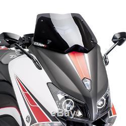 Yamaha T-max 530 2012 2014 Bulle Puig Fumé Foncé V-tech Sportplus Saute Vent