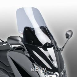 Yamaha T-max 530 2015 2016 Bulle Puig Fumé Clair V-tech Touring Saute Vent