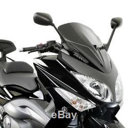Yamaha Tmax 500 cc Pare-Brise Sportif Noir pour Yamaha T-Max 500 08/11 Givi